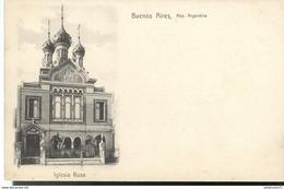 CPA  République Argentina - Buenos Aires - Iglesia Rusa - Non Circulé - Argentina