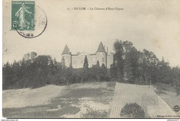 CPA  Billom - Château D'Haut Teyras -  Circulé 1908 - France
