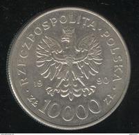 10 000 Zlotys Pologne Solidarnosc - 1990 - Polen