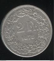 2 Francs Suisse / Switzerland 1878 - TB+ - Suisse