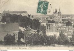 CPA  Blois - Vue Générale - Circulé 1909 - Blois