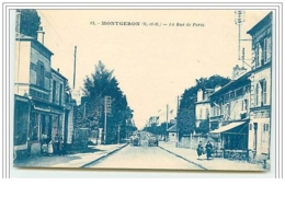 MONTGERON La Rue De Paris - Montgeron