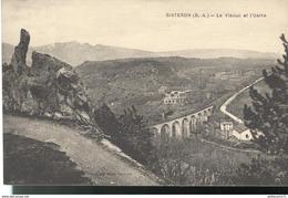 CPA  Sisteron - Viaduc - Usine - Non Circulé - Sisteron