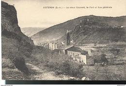 CPA  Sisteron - Vieux Couvent - Fort - Vue Générale - Non Circulé - Sisteron