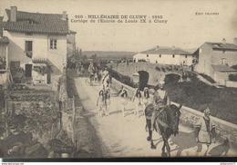 CPA  Cluny - Millénaire 1910 - Cortège De L'entrée De Louis IX à Cluny - Non Circulé - France