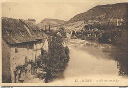 CPA  Mende - Un Joli Coin Sur Le Lot -  Circulé 1937 - Mende