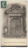 CPA Verrey Sur Dree - Porte Occidentale De L'Ancien Château Féodal - Circulée 1912 - Altri Comuni