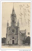 CPA Beire Le Chatel - L'église - Circulée - France