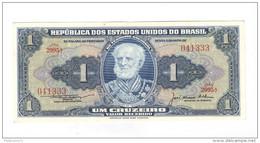 Billet 1 Cruzeiro Brésil / Brasil / Brazil 1956 état Neuf - Brazil