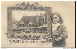 CPA Beaune - Je Vous Envoie Ces Fleurs -  Circulée 1907 - Beaune