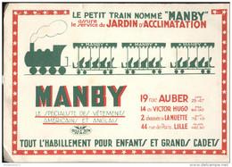 Buvard Manby - Le Petit Tain Nommé Manby - Bon état - Textilos & Vestidos