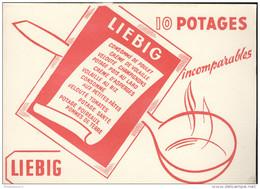 Buvard Liebig - Bon état - Potages & Sauces