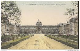 CPA Le Vésinet - L'Asile-Vue D'ensemble Et Façade Principale - Dos Divisé - Circulée En 1917 - Le Vésinet