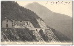 CPA Ligne De La Mure - Passage De La Rivoire - Non Circulée 1904 - Dos Non Divisé - Other Municipalities