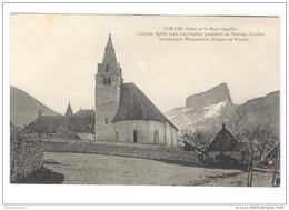 CPA Clelles -  Mont Aiguille - Curieuse Eglise - Non  Circulée - Clelles