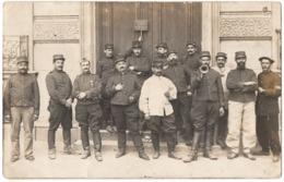 Bordeaux La Bastide 1914 Militaire 18e Régiment Carte Photo 2scans - Coutances