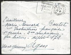 LF B85  Lettre En Franchise Militaire De 1940 Cachet Daguin De St Aignan Sur Cher - Poststempel (Briefe)
