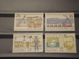 NAURU - 1975 PHOPHATE    4 VALORI - NUOVI(++) - Nauru