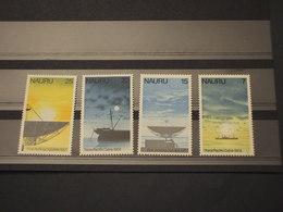NAURU - 1977 TELECOMUNICAZIONE    4 VALORI - NUOVI(++) - Nauru