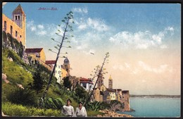 Croatia Rab, Arbe / Panorama, Agave, Church / Uncirculated, Unused / Purger - Croatie