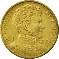 Monnaie, Chile, 10 Pesos, 1997, Santiago, TTB, Aluminum-Bronze, KM:228.2 - Chile