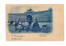 Cartolina / Postcard / Viaggiata / Sent / San Pietroburgo - 1901 - (piccola Piega Angolo In Basso A Destra) - Russia