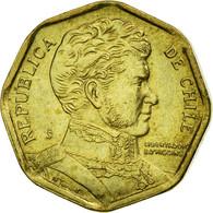 Monnaie, Chile, 5 Pesos, 2008, Santiago, TTB, Aluminum-Bronze, KM:232 - Chile