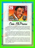 TIMBRES REPRESENTATIONS - CLYDE McPHATTER (1932-1972) RHYTHM SINGER - LEGENDS OF AMERICAN MUSIC - STAMP ISSUE, 1993 - - Timbres (représentations)