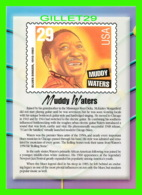 TIMBRES REPRESENTATIONS - MUDDY WATERS (1915-1983) BLUES SINGER - LEGENDS OF AMERICAN MUSIC - STAMP ISSUE, 1994 - - Timbres (représentations)