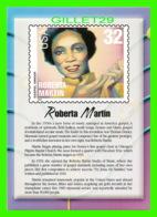 TIMBRES REPRESENTATIONS - ROBERTA MARTIN (1907-1969) GOSPEL SINGER - LEGENDS OF AMERICAN MUSIC - STAMP ISSUE, 1998 - - Timbres (représentations)