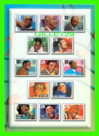 TIMBRES REPRESENTATIONS - LEGENDS OF AMERICAN MUSIC - UNITED  STATES POSTAL SERVICE -- - Timbres (représentations)