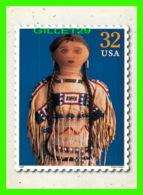 TIMBRES REPRESENTATIONS - CLASSIC AMERICAN DOLLS, PLAINS INDIAN, 1920'S - - Timbres (représentations)