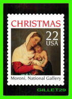 TIMBRES REPRESENTATIONS - CHRISTMAS - GIOVANNI BATTISTA MORONI (1525-1578) A GENTLEMAN IN ADORATION - STAMP ISSUE, 1987 - Timbres (représentations)