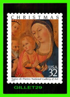 TIMBRES REPRESENTATIONS - CHRISTMAS - SANO DI PIETRO (1406-1481) MADONNA AND CHILD  - STAMP ISSUE, 1997 - Timbres (représentations)
