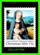TIMBRES REPRÉSENTATIONS - CHRISTMAS - GERARD DAVID (1460-1523) THE REST ON THE FLIGHT EGYPT- STAMP ISSUE, 1979 - - Timbres (représentations)