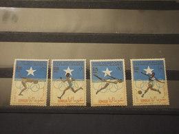 SOMALIA - 1964 OLIMPIADI 4 VALORI - NUOVI(++) - Somalia (1960-...)