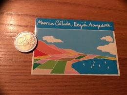 "AUTOCOLLANT, Sticker ""Murcia Cálida, Región Acogedora"" Espagne - Autocollants"