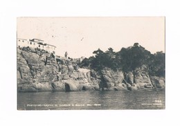Cartolina/Postcard - Viaggiata/Sent - Italia - Portofino - Castel S.Giorgio E Rocce Dal Mare - 1921 - Italia
