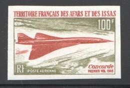 1969  Concorde  Non Dentelé - ** Luxe - Afars & Issas (1967-1977)