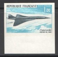 1969  Concorde  Non Dentelé - ** Luxe - France