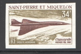 1969  Concorde  Non Dentelé - ** Luxe - Imperforates, Proofs & Errors