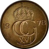 Monnaie, Suède, Carl XVI Gustaf, 5 Öre, 1978, TB+, Bronze, KM:849 - Suède