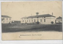 78 MONTESSON . Ecole Th Rousset , édit : Sans , écrite En 1906 , état Extra - Montesson