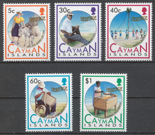 Cayman Islands 1992 Mi# 671-75** ISLAND HERITAGE - Kaimaninseln