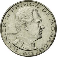 Monnaie, Monaco, Rainier III, Franc, 1982, TTB, Nickel, Gadoury:MC 150, KM:140 - Monaco