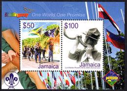 Jamaica 2007 Scouting Souvenir Sheet Unmounted Mint. - Jamaica (1962-...)