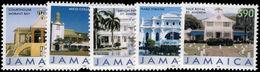 Jamaica 2006 Buildings 2008 Imprint Set Unmounted Mint. - Jamaica (1962-...)
