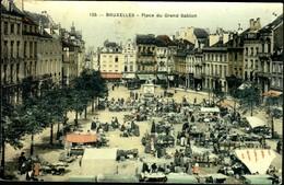 Bruxelles : Place Du Grand Sablon - Monuments, édifices