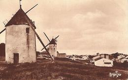 85)  ILE De NOIRMOUTIER  -  LA   GUERINIERE  (  Moulin  ) - Ile De Noirmoutier