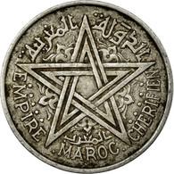 Monnaie, Maroc, Mohammed V, 2 Francs, AH 1370/1951, Paris, TTB, Aluminium, KM:47 - Maroc